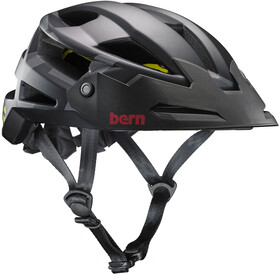 Bern FL-1 XC Type MIPS Helmet with Visor Matte Black